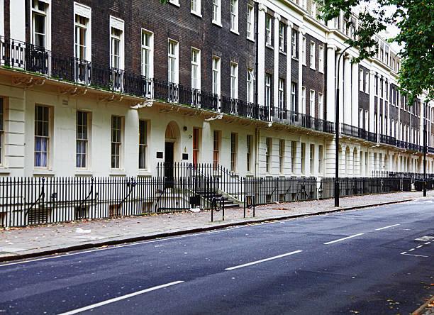 Bloomsbury,Camden,London stock photo