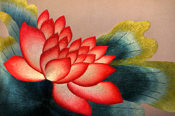 blossom lotus blume - lotus symbol stock-fotos und bilder