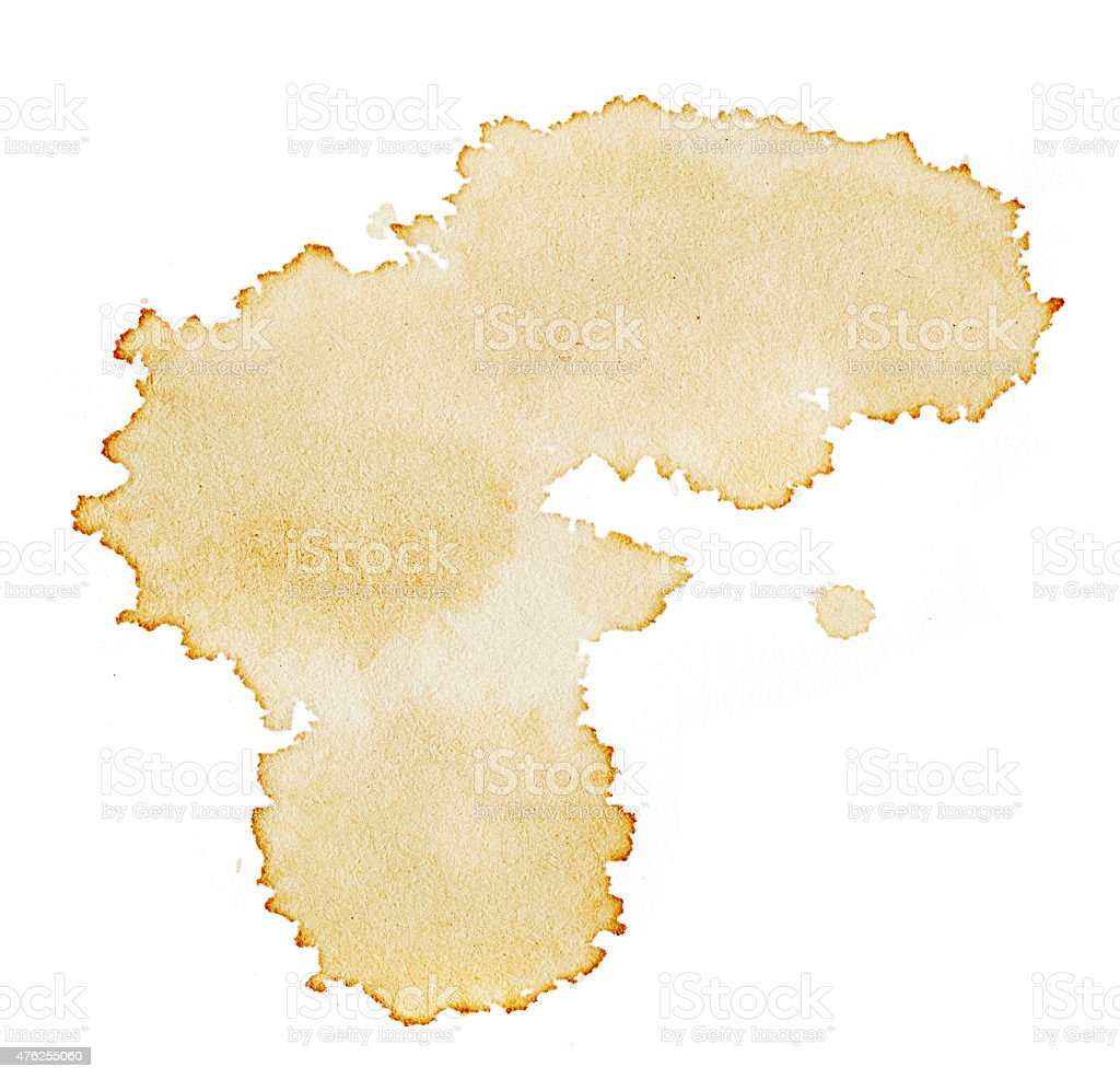 Blots of coffee stock photo