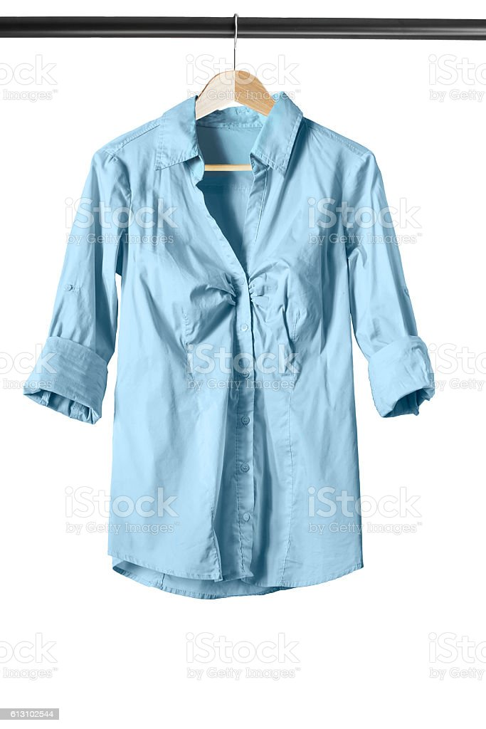 Blouse on clothes rack – Foto