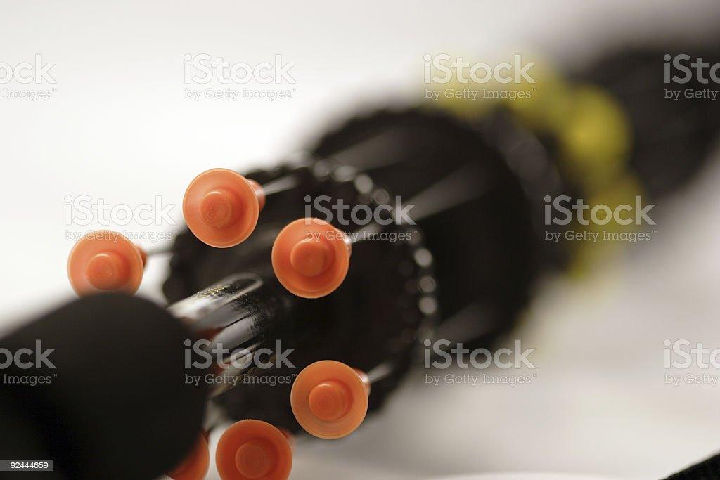 blow darts gun royalty-free stock photo