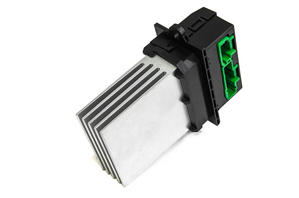Blower motor resistor stock photo
