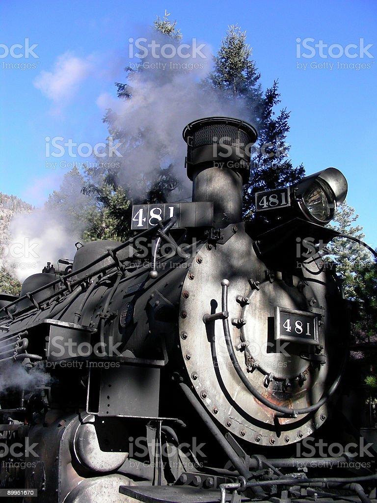 Blowin' Steam stock photo