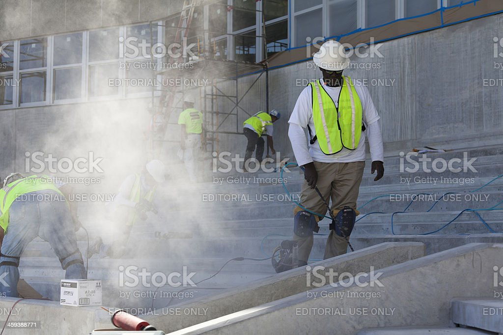 Blowing Dust stock photo