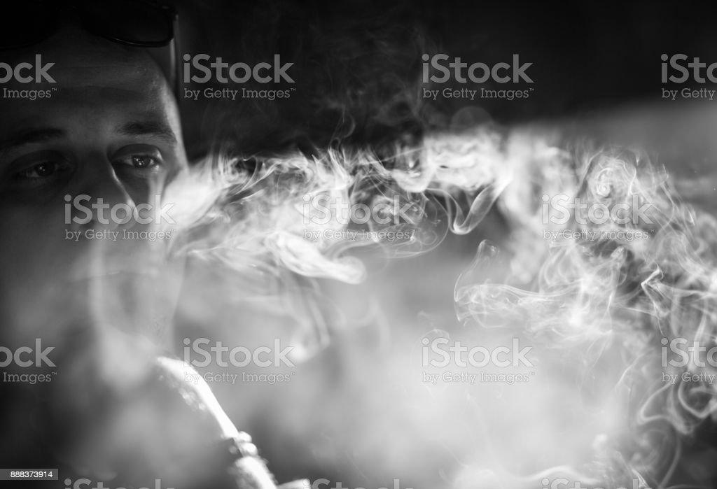 Blasen Rauch – Foto