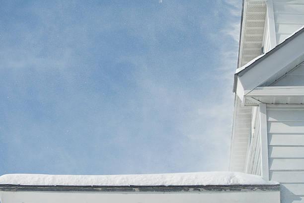 Treibender Schnee – Foto