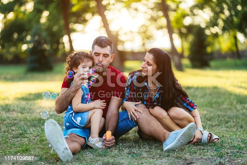 507271044istockphoto Blowing soap bubbles competition 1174109887