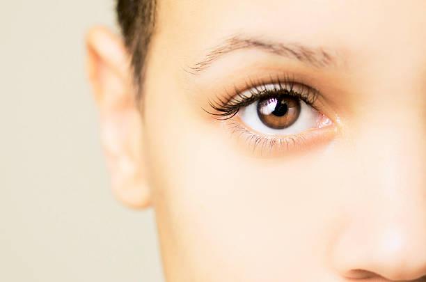 Blown Out Eye stock photo