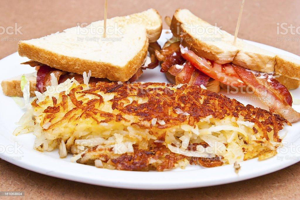 BLT-Sandwich royalty-free stock photo