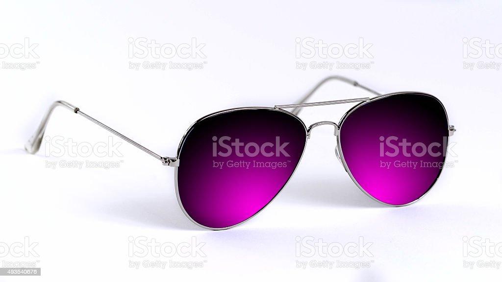 Blu Glasses stock photo