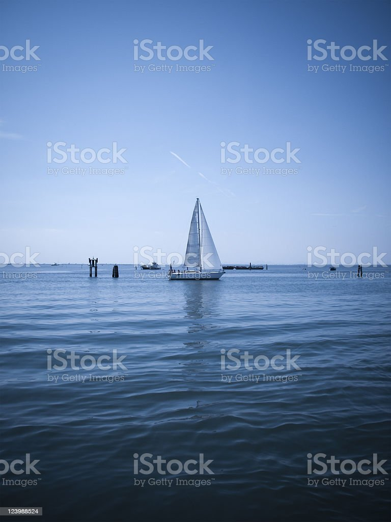 Blu relax royalty-free stock photo