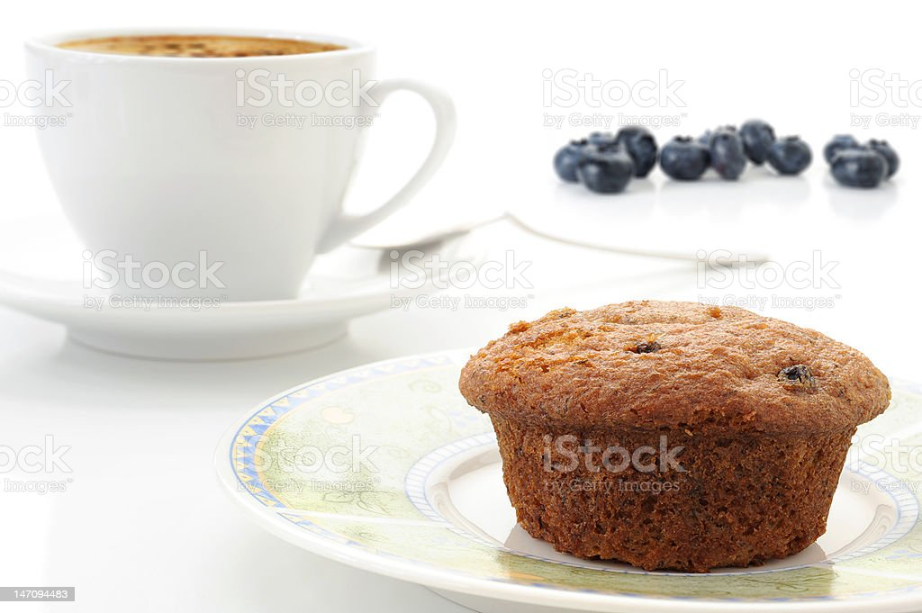 Bluberry Muffin royalty-free stock photo