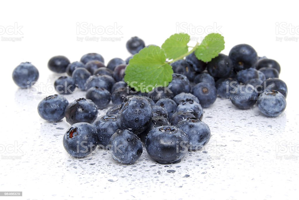 Bluberry Pile royalty-free stock photo