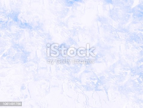 istock Blue abstract art painting background 1061491756