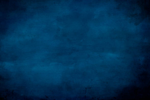 blue abstract background or texture - paint texture stock pictures, royalty-free photos & images