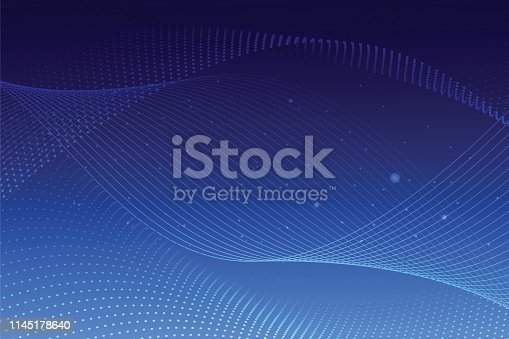 istock Blue Abstract Background 1145178640