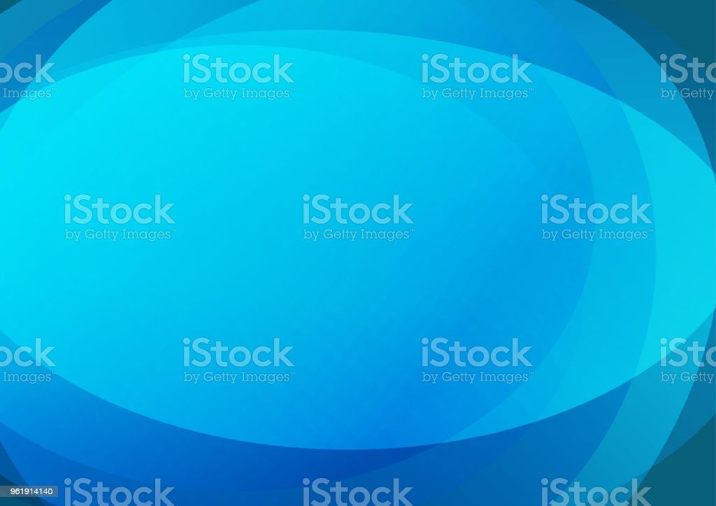 Blue Abstract background with smooth lines. stock photo