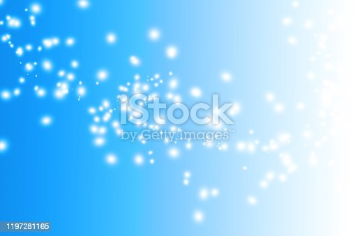 1047386704istockphoto Blue abstract background with white shinny stars 1197281165