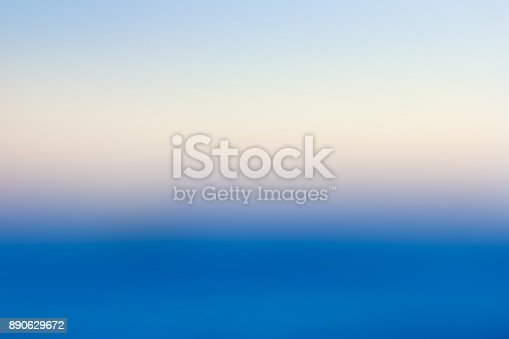 istock Blue abstract blurred background 890629672