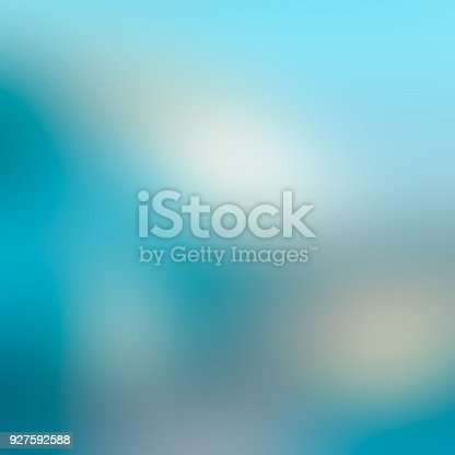 istock Blue abstract blurred background 927592588