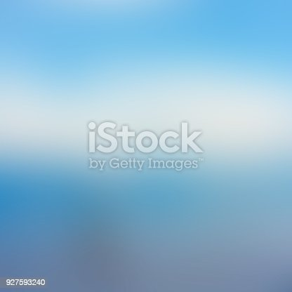 istock Blue abstract blurred background 927593240