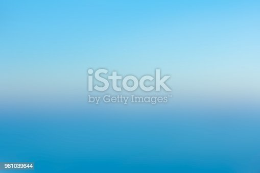 istock Blue abstract blurred background 961039644