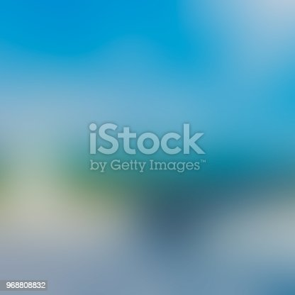 istock Blue abstract blurred background 968808832