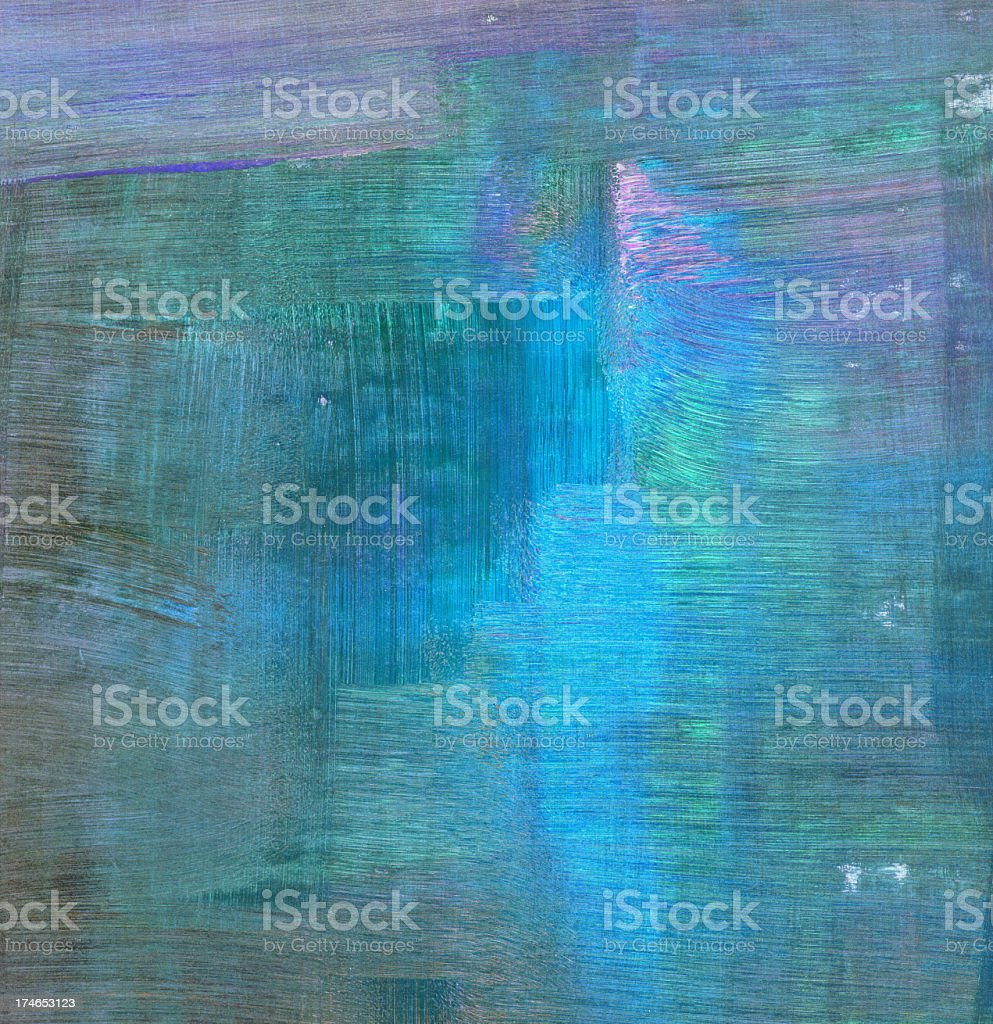 Blue Abstract Composition royalty-free stock photo