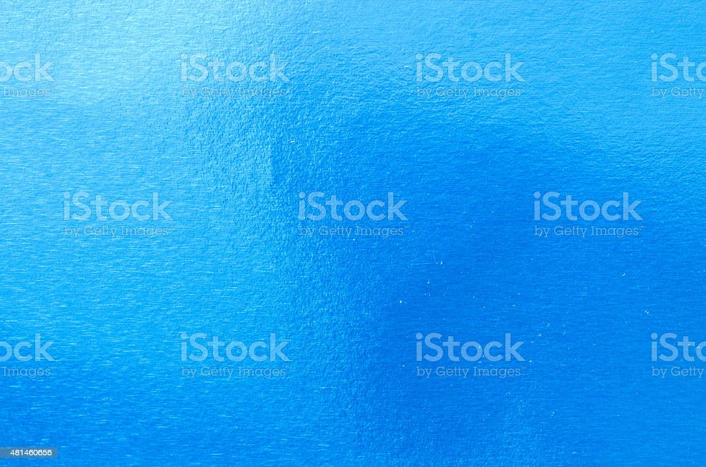 Blaue abstrakte metallic-Struktur – Foto