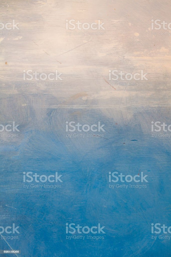 blue abstract ocean art painting background stock photo