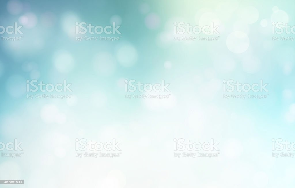A blue abstract painting with light exposure stock photo