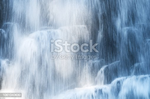 istock Blue abstract waterfall 1061040630