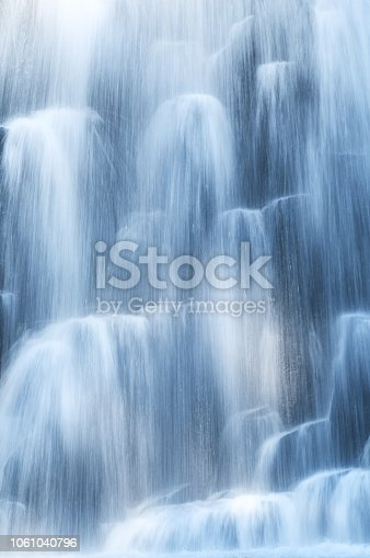 istock Blue abstract waterfall 1061040796