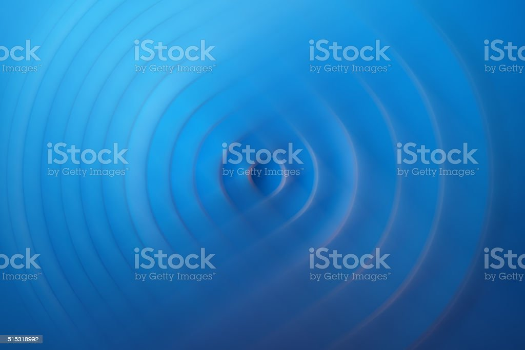 Blue abstract waves stock photo