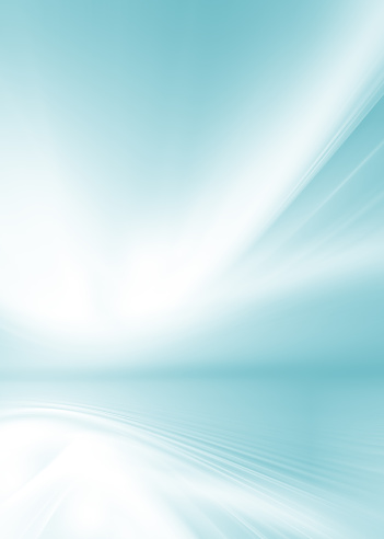 creative Blue abstraction waves background wavy