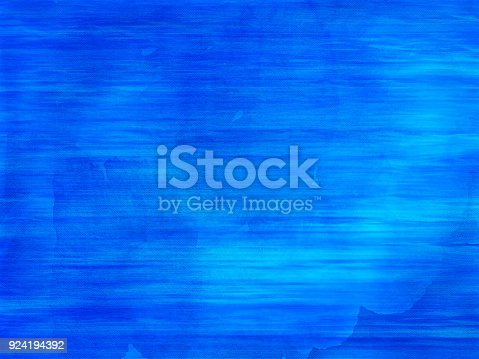 istock Blue and  aqua watercolor waves 924194392
