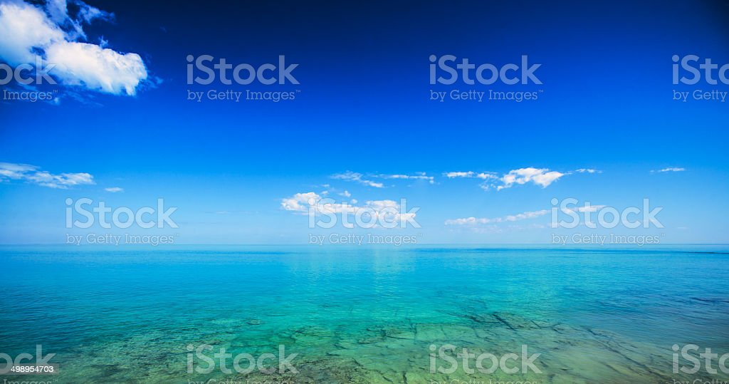 Blue and Beyond stock photo
