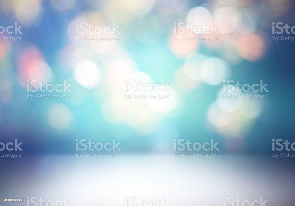 Camera Blu E Grigio Astratto Sfondo Sfumato Fotografie Stock E