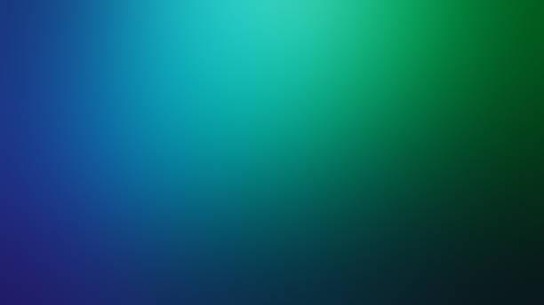 fond abstrait de mouvement brouillé bleu et vert - bleu photos et images de collection
