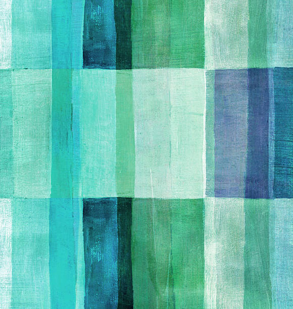 blue and green painted background - kelly green stock pictures, royalty-free photos & images