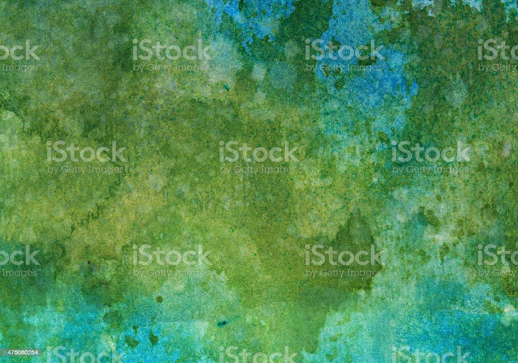 Blue and green textured background stock photo