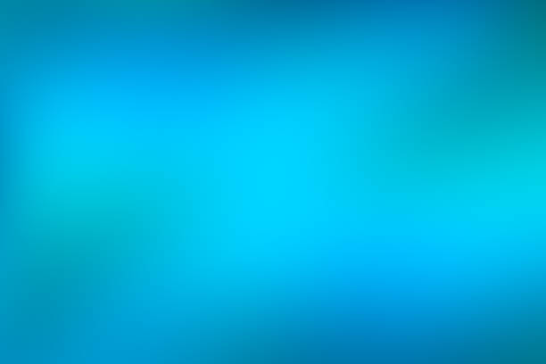 blue and green water abstract background, cool water effect gradient background of bright vivid turquoise colour fading to blue - high key stock pictures, royalty-free photos & images