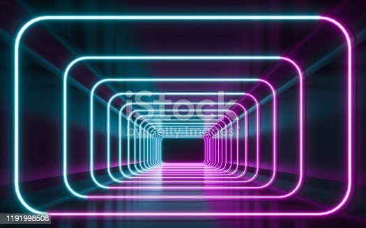 1043738824 istock photo Blue and purple neon 1191998508