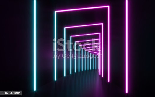 1043738824 istock photo Blue and purple neon 1191998584