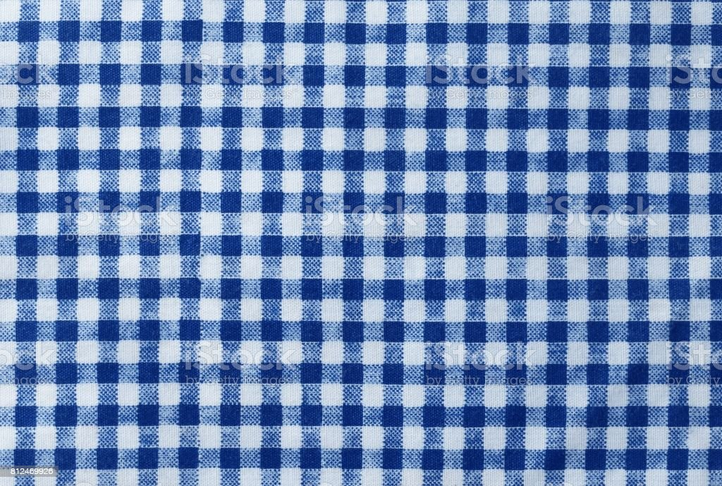 Blue and White Lumberjack Plaid Seamless Pattern stock photo