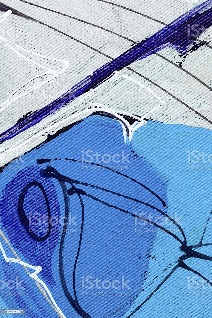 Blue and white stock photo