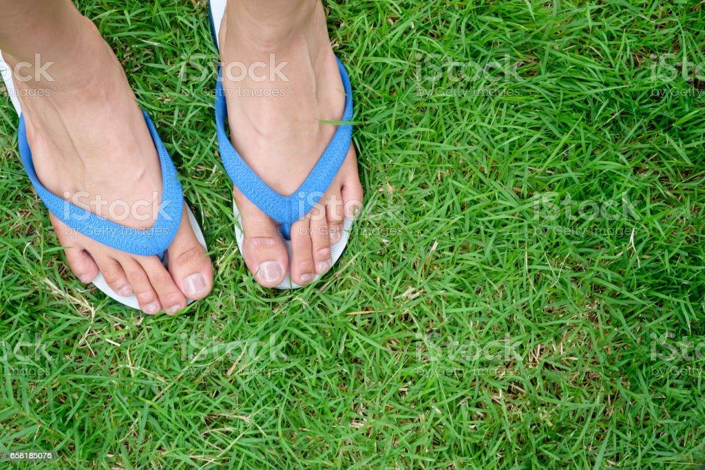 Füße frau kleine Styling