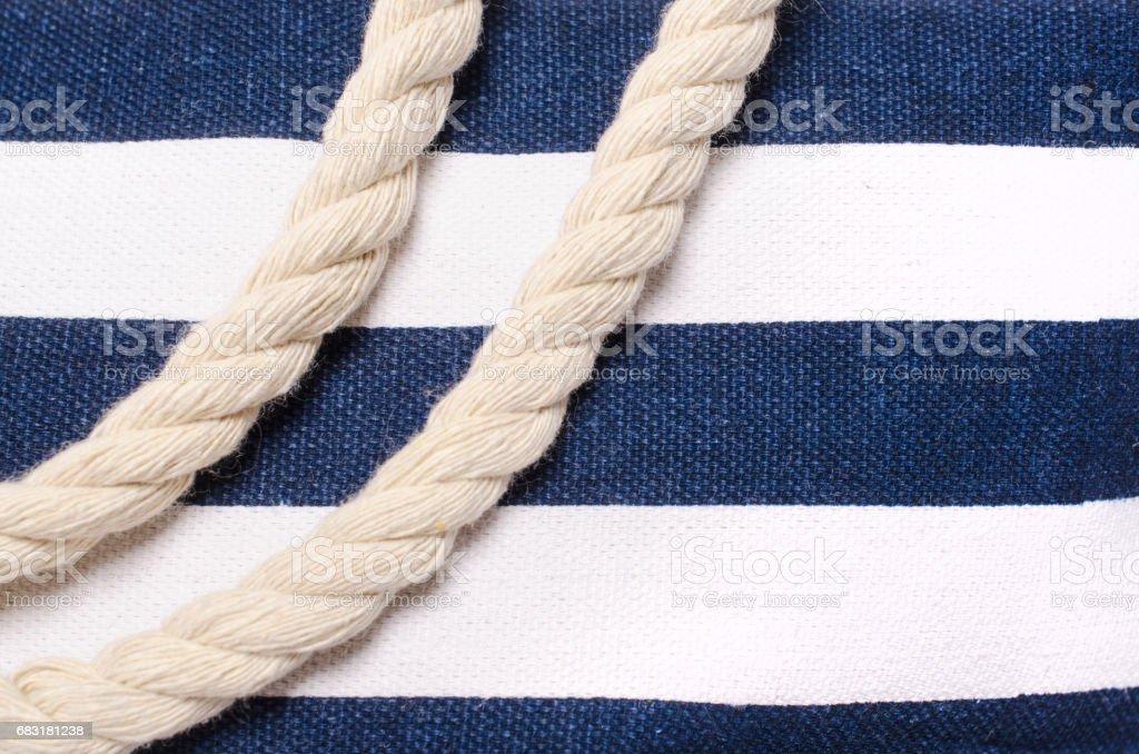 藍色和白色的條紋背景 免版稅 stock photo