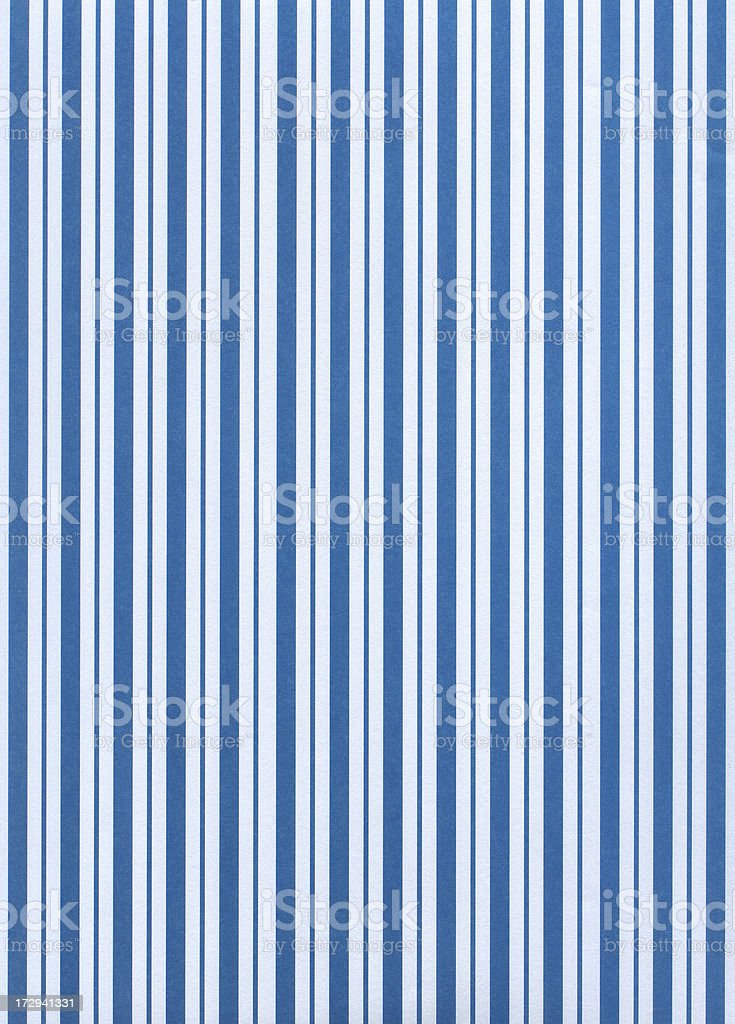Blue and White Stripes royalty-free stock photo