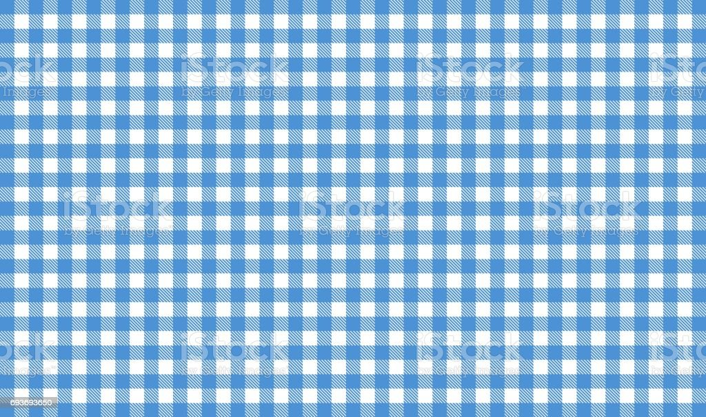 Blue and white tablecloth tablecloth background stock photo